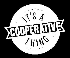 Coop Thing logo white