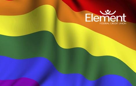 Rainbow Flag Debit