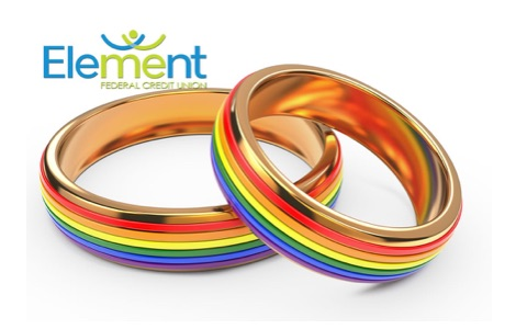 rainbow rings debit